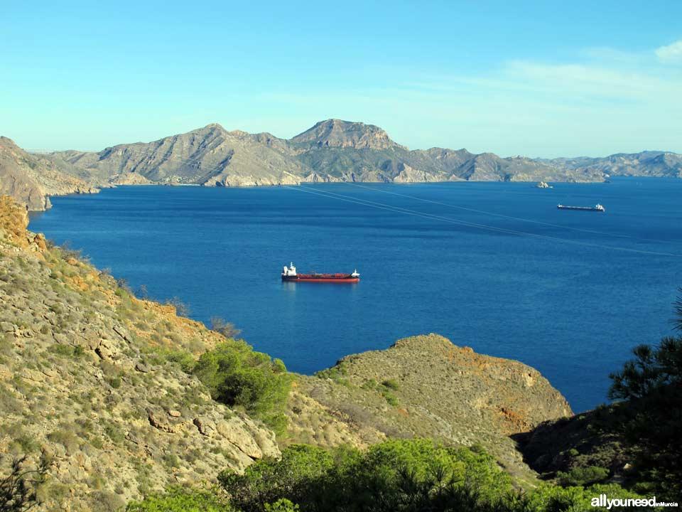 Cabo Tiñoso en Cartagena